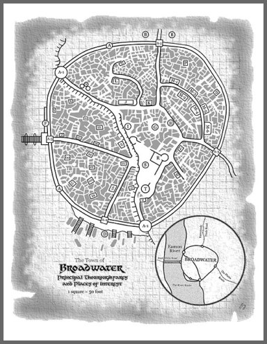 Town of Broadwater, Frog God Games